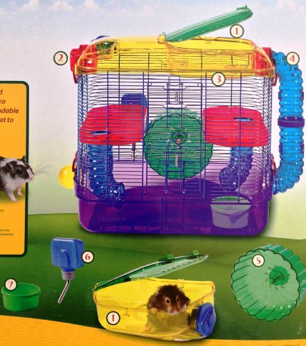 kaytee critter trail 2 level habitat hamster cages and supplies