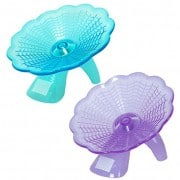 Lovely-Flying-Saucer-Exercise-Wheel-Hamster-Gerbil-Cage-Toy-New-0