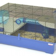 Marchioro-Kevin-82-Cage-for-Small-Animals-3225-inches-BlueBlack-0