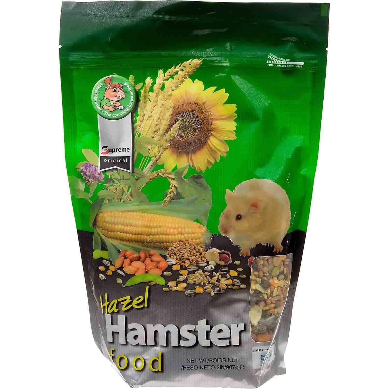 Hazel Hamster Food