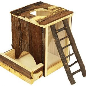 Trixie-Pet-Products-Natural-Wood-Digging-Tower-for-Mice-9-x-6-x-8-Inch-0