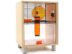 qute gerbil and hamster cage